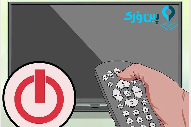 تمیز کردن صفحه تلویزیون 1