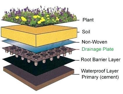زهکشی مناسب برای خاک باغچه