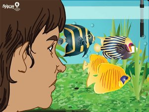 تغییر وضعیت ماهی