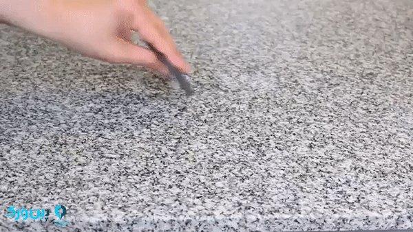 از بین بردن خراش روی مرمر