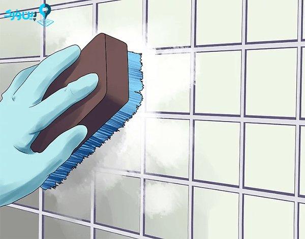 جرم گیری کاسه توالت و کاشی