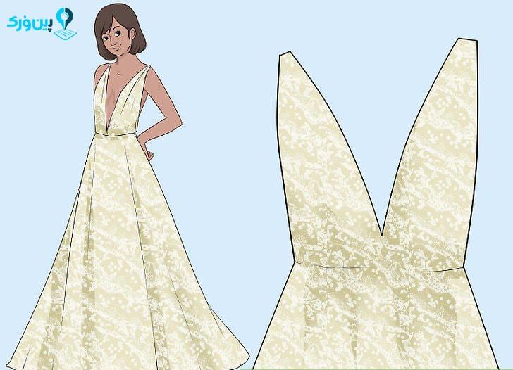 انتخاب لباس عروس با توجه به فرم سیب اندام