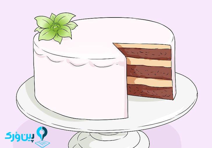انتخاب یک طعم ساده و معمولی برای کیک