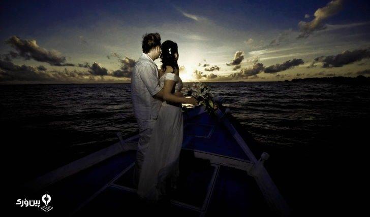 مراسم ازدواج غیرمعمول و عجیب