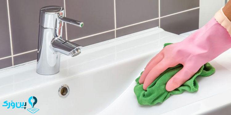 شستن سینک