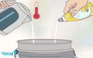 تمیز کردن کابنیت با شوینده ها