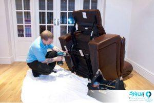 حفاظت از صندلی ماساژور