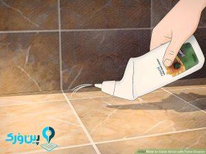 پاک کننده مناسب کاشی سرویس بهداشتی