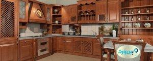 پوشش چوب کابینت