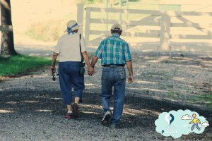 فواید ورزش پیاده روی در افراد سالمند