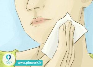 کوچک کردن منافذ باز پوست