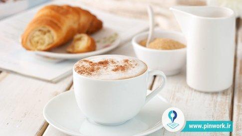قهوه و شیر