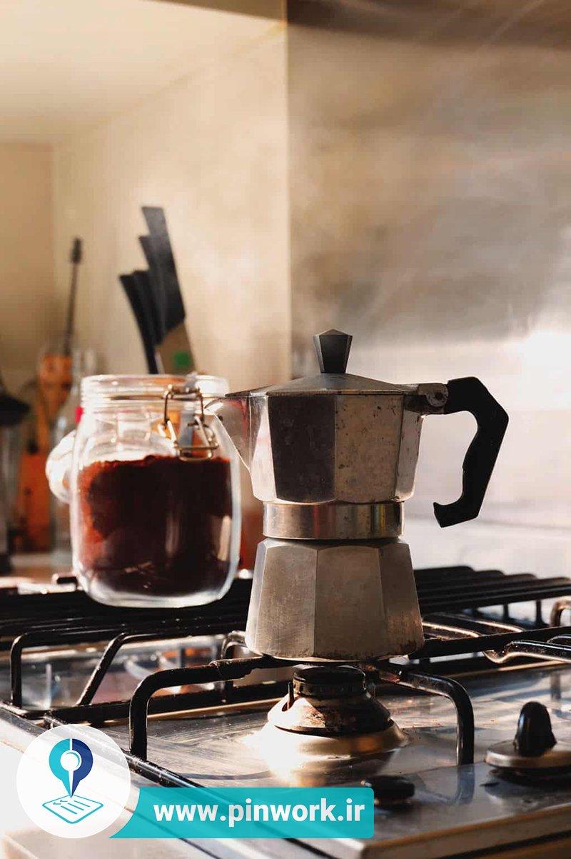 دم کردن قهوه