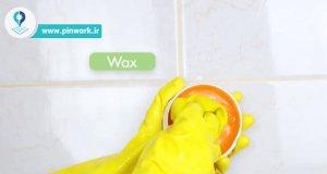 تمیز کردن سرامیک سرویس بهداشتی