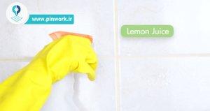 تمیز کردن سرامیک حمام