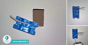 استاندارد نصب کلید و پریز برق