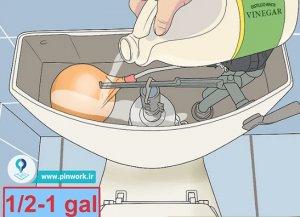 شیر شناور توالت فرنگی