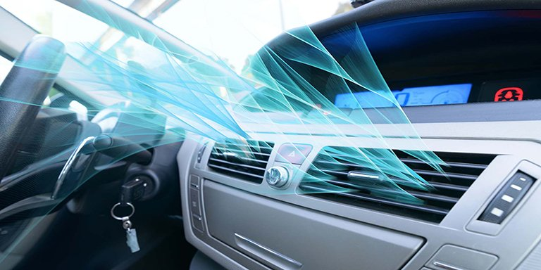 Car air conditioner system components and their performance description