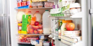 مواد غذایی زیاد در یخچال