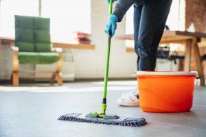 نیروی نظافتچی آقا و نظافتچی خانم