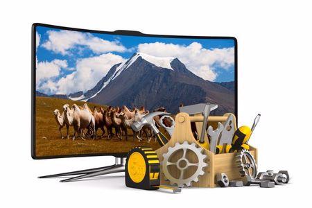 تعمیر تلویزیون در محل