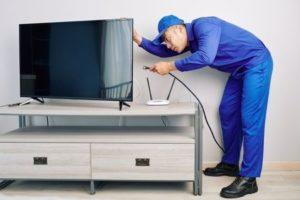 تعمير تلويزيون در محل