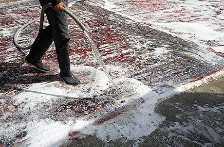 قالیشویی در پین ورک